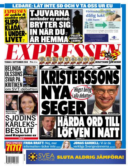 Expressen September 04, 2018 00:00