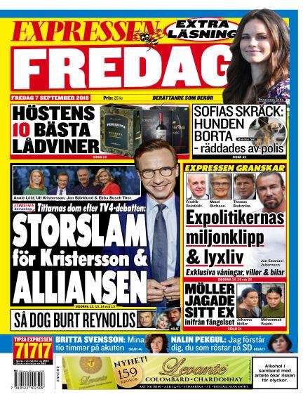 Expressen September 07, 2018 00:00