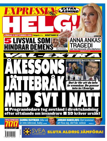 Expressen September 08, 2018 00:00