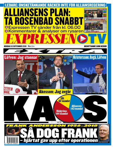 Expressen September 10, 2018 00:00