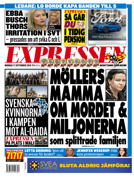 Expressen September 17, 2018 00:00