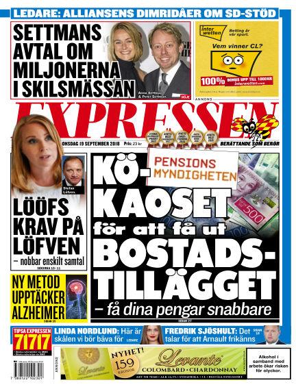 Expressen September 19, 2018 00:00