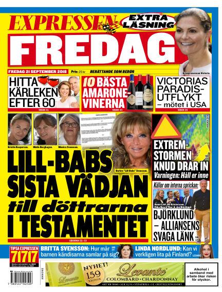 Expressen September 21, 2018 00:00