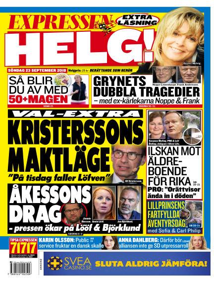 Expressen September 23, 2018 00:00