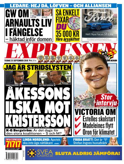 Expressen September 25, 2018 00:00