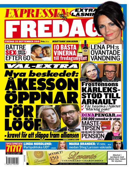 Expressen September 28, 2018 00:00