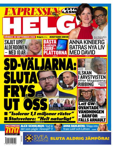 Expressen September 30, 2018 00:00