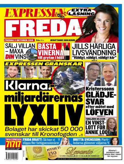 Expressen October 05, 2018 00:00