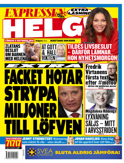 Expressen October 06, 2018 00:00