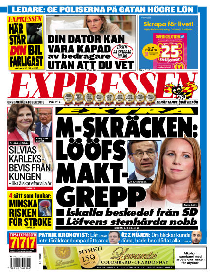 Expressen October 10, 2018 00:00