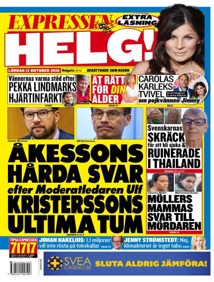 Expressen October 13, 2018 00:00