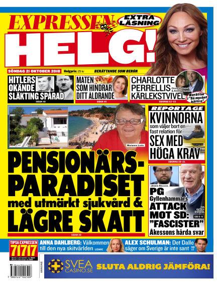 Expressen October 21, 2018 00:00
