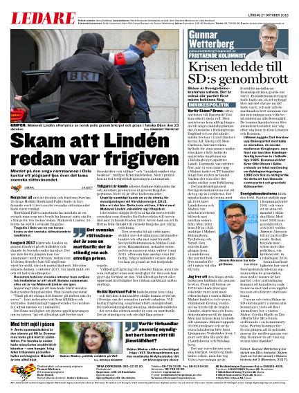 Expressen October 27, 2018 00:00