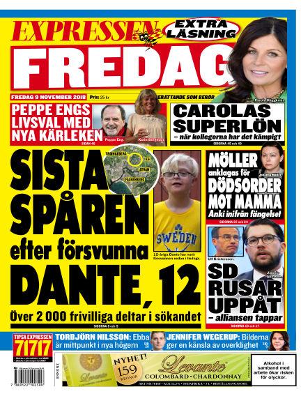 Expressen November 09, 2018 00:00