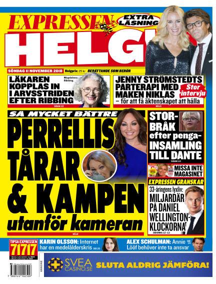 Expressen November 11, 2018 00:00