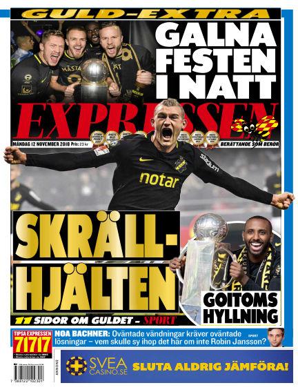Expressen November 12, 2018 00:00