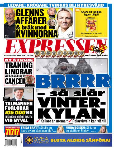Expressen November 20, 2018 00:00