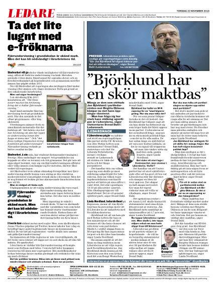 Expressen November 22, 2018 00:00