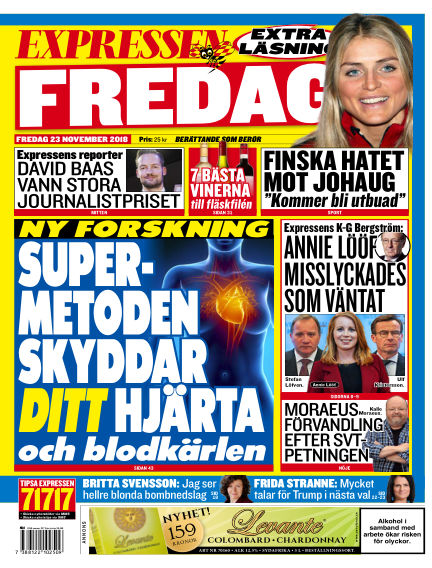 Expressen November 23, 2018 00:00