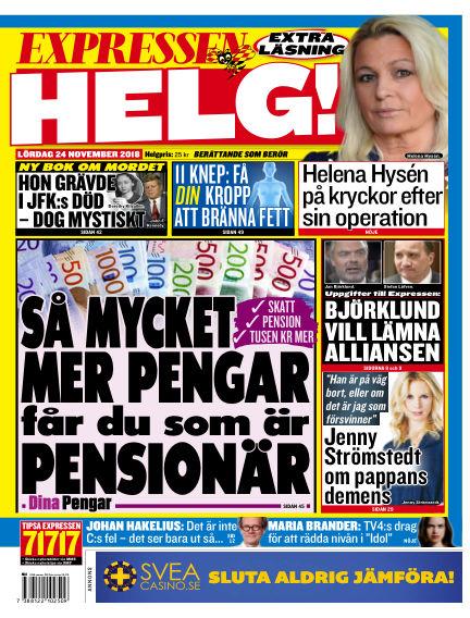 Expressen November 24, 2018 00:00