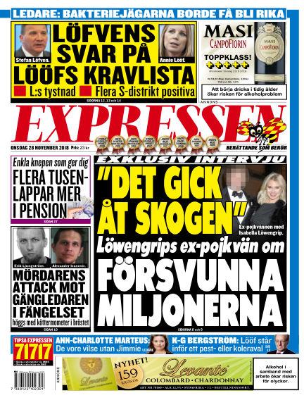 Expressen November 28, 2018 00:00