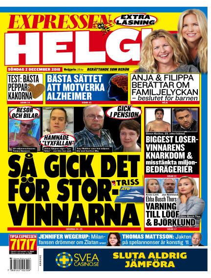 Expressen December 02, 2018 00:00