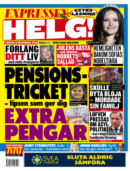 Expressen December 08, 2018 00:00