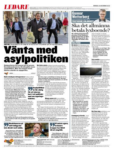 Expressen December 10, 2018 00:00