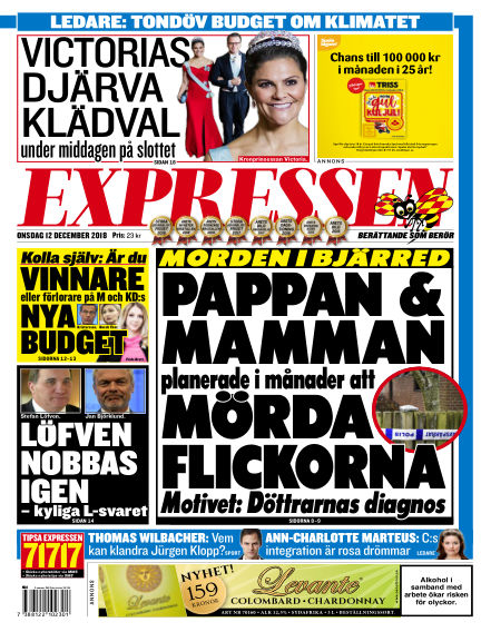Expressen December 12, 2018 00:00