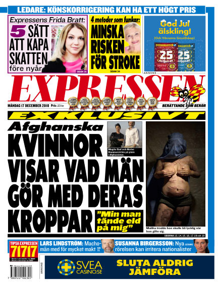 Expressen December 17, 2018 00:00
