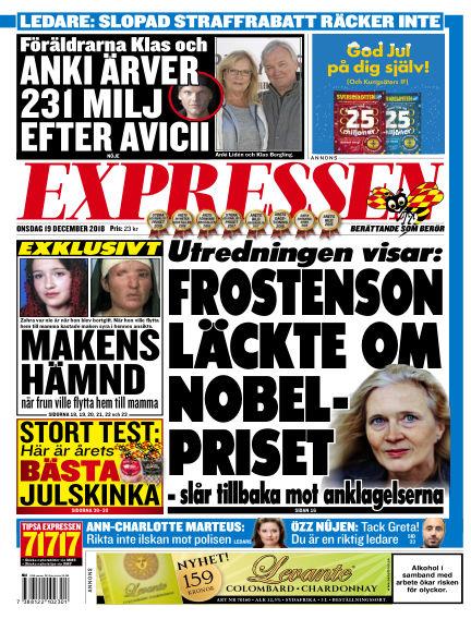 Expressen December 19, 2018 00:00