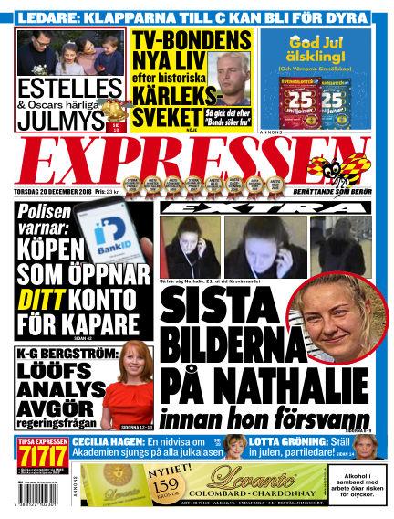 Expressen December 20, 2018 00:00