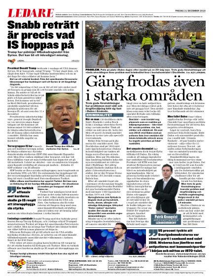 Expressen December 21, 2018 00:00