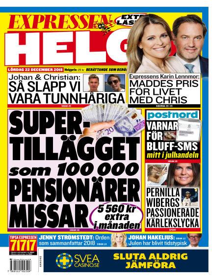 Expressen December 22, 2018 00:00