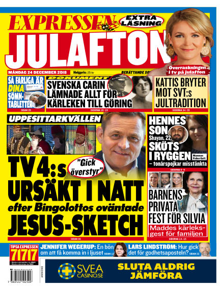 Expressen December 24, 2018 00:00