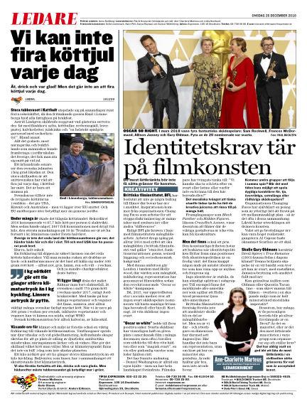 Expressen December 26, 2018 00:00