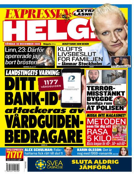 Expressen December 30, 2018 00:00