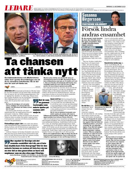 Expressen December 31, 2018 00:00