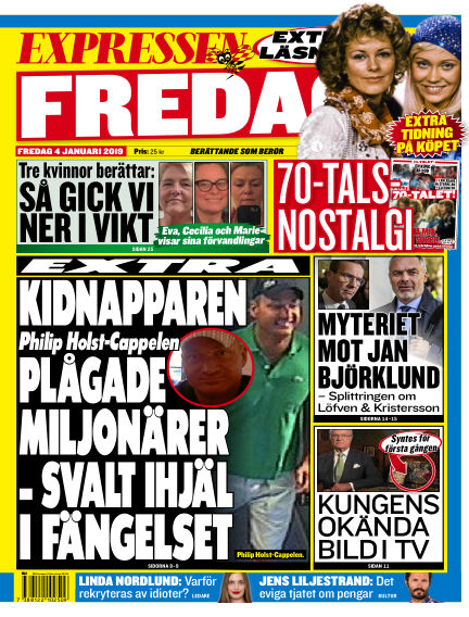 Expressen January 04, 2019 00:00