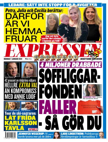 Expressen January 07, 2019 00:00
