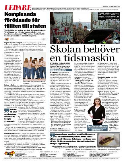 Expressen January 10, 2019 00:00