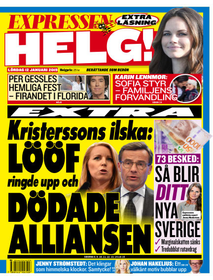 Expressen January 12, 2019 00:00