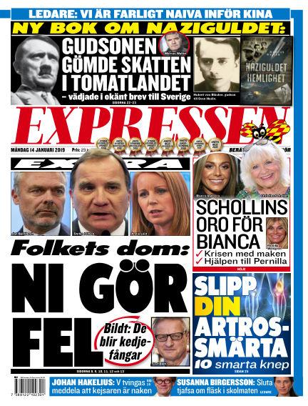 Expressen January 14, 2019 00:00