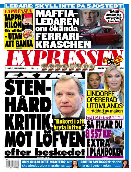 Expressen January 15, 2019 00:00
