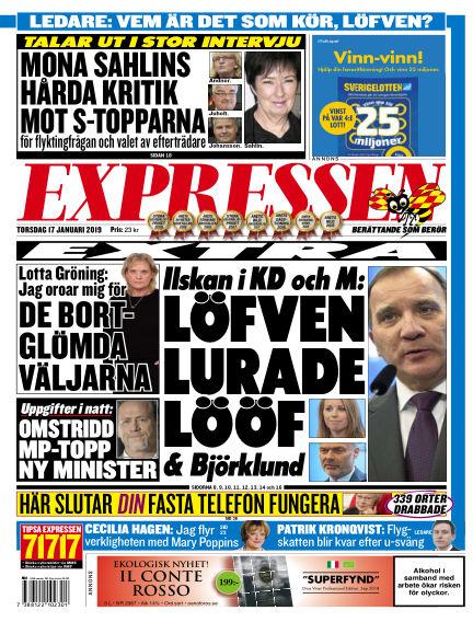 Expressen January 17, 2019 00:00