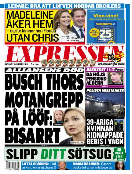Expressen January 23, 2019 00:00