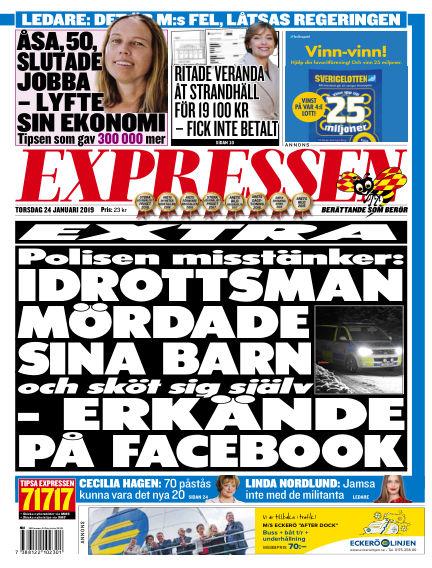 Expressen January 24, 2019 00:00