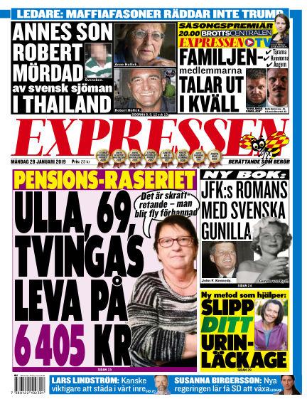 Expressen January 28, 2019 00:00