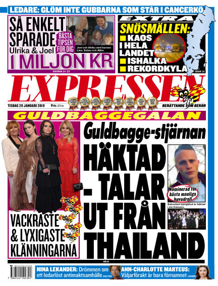 Expressen January 29, 2019 00:00