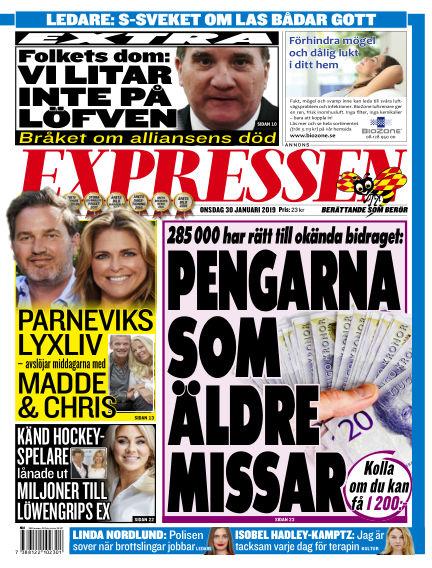 Expressen January 30, 2019 00:00